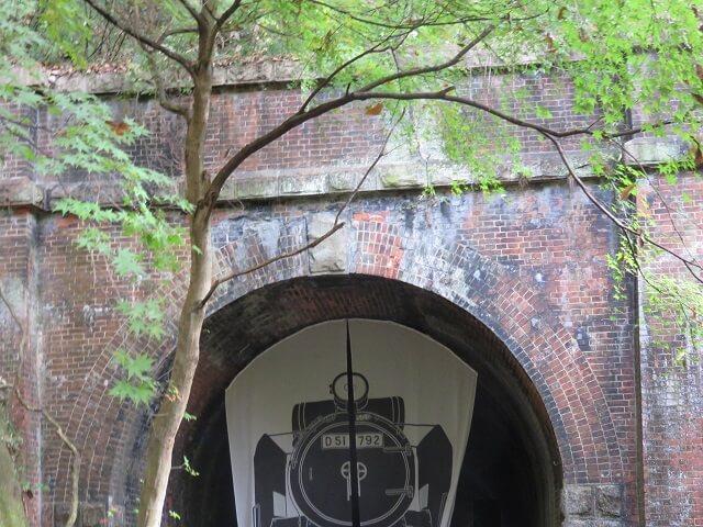 愛岐トンネル群3号トンネル入り口