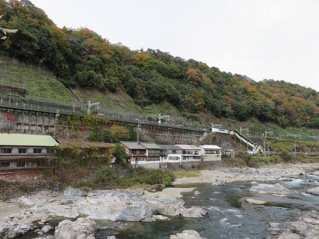 JR中央線定光寺駅