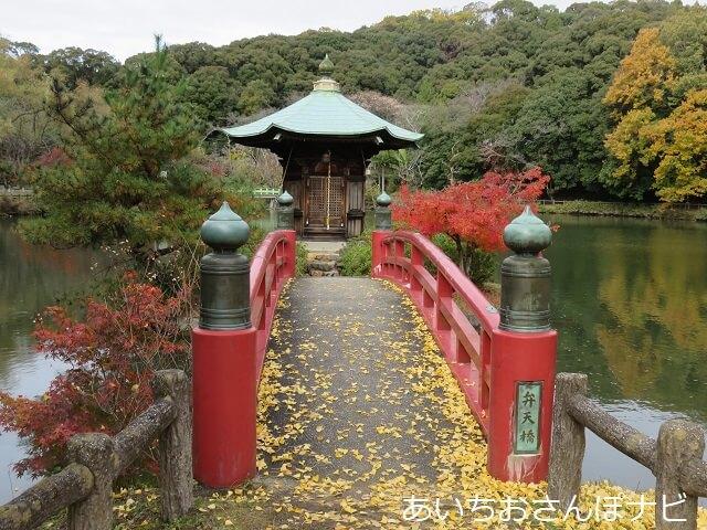 瀬戸市定光寺公園の正伝池