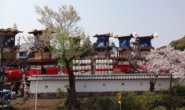 愛知県犬山祭りの山車
