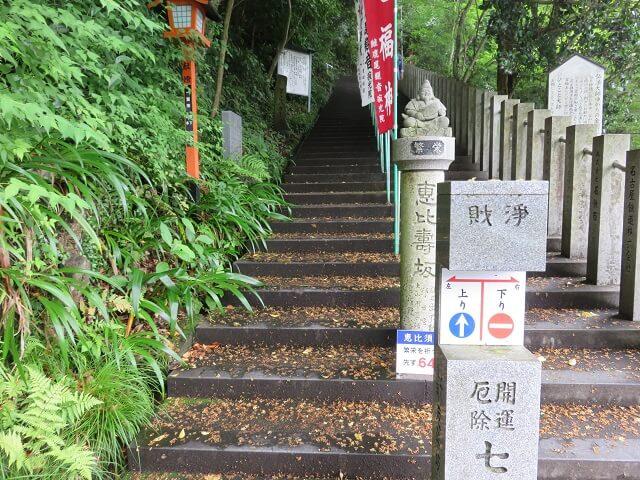 愛知県犬山市の七福坂