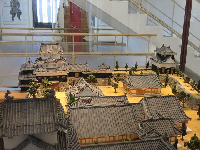 豊橋市吉田城の模型