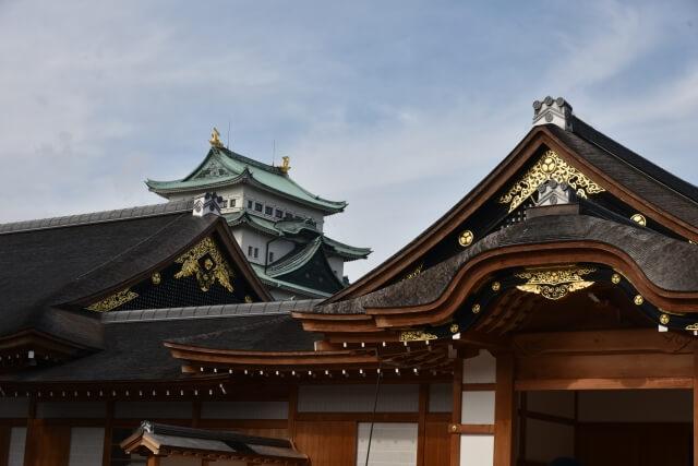 愛知県名古屋城と本丸御殿
