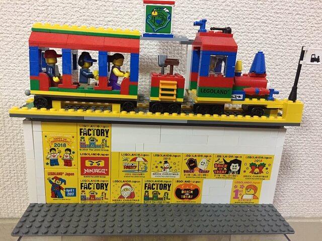 レゴランド名古屋のレゴファクトリーでもらえるデザインブロック