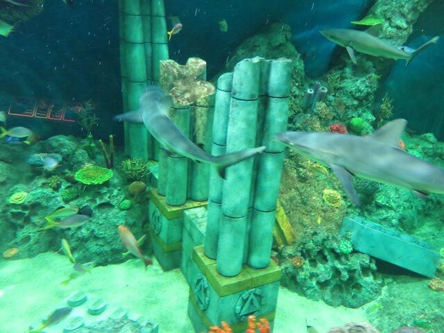 レゴランド名古屋サブマリンアドベンチャーの海底