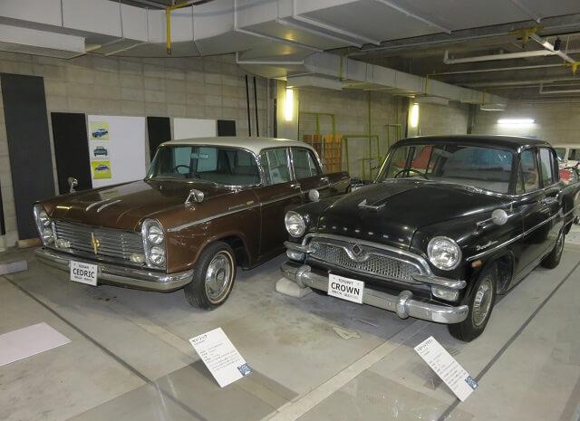 北名古屋市の昭和日常博物館にある昭和の車