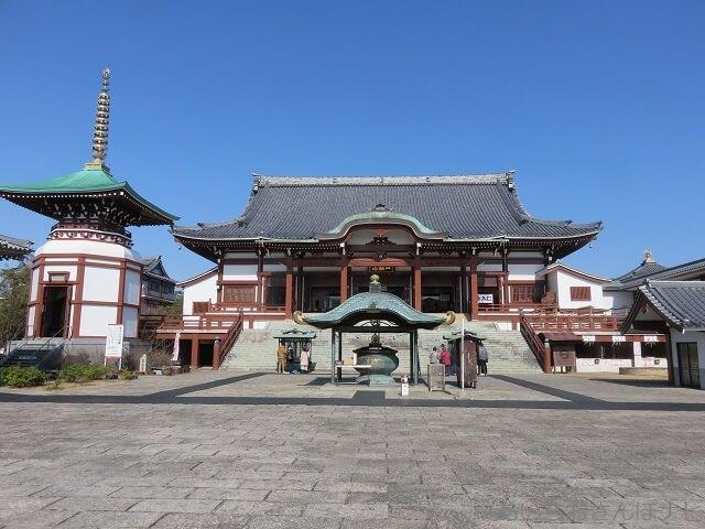 愛知県岡崎市の一畑山薬師寺