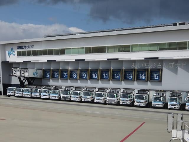 中部国際空港セントレア滑走路見学ツアー、フードローダー車