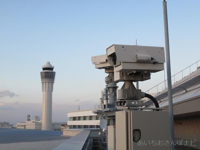 中部国際空港セントレアにあるお天気カメラ