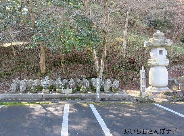 可児市天龍寺にある土岐明智氏歴代の墓所