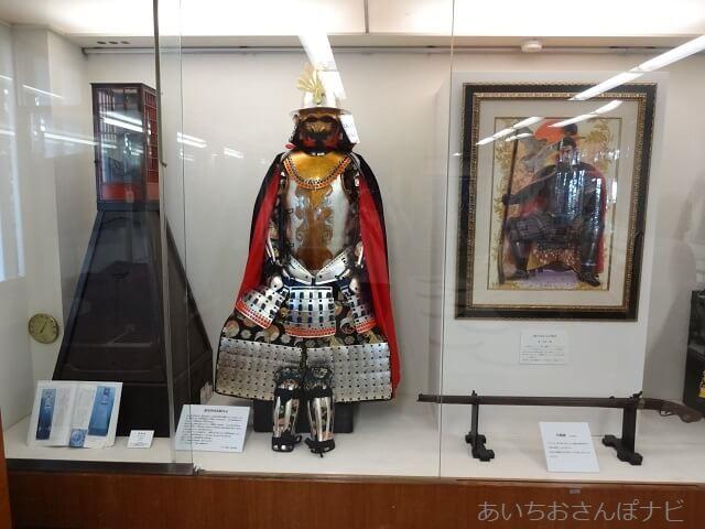 岐阜城資料館の信長の甲冑