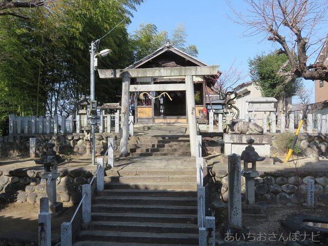 犬山先聖寺の北側にある外町天満宮