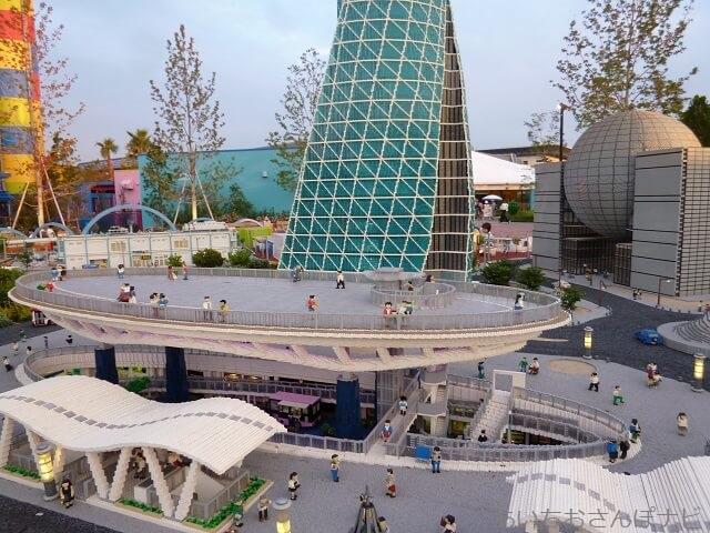レゴランドのレゴブロックで作られた名古屋