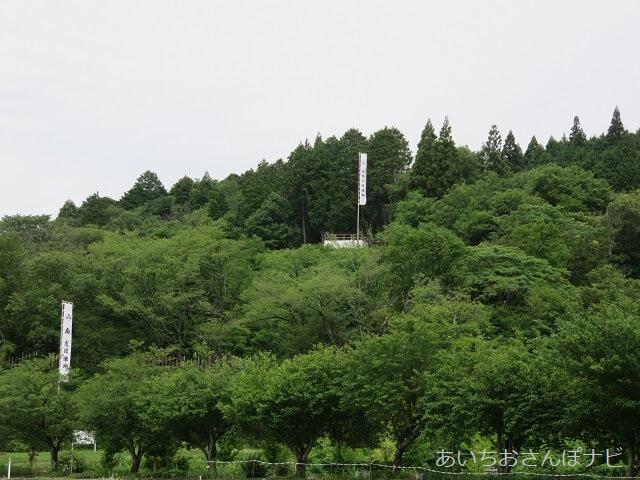 岐阜県関ヶ原市の合戦地・石田三成の陣営地