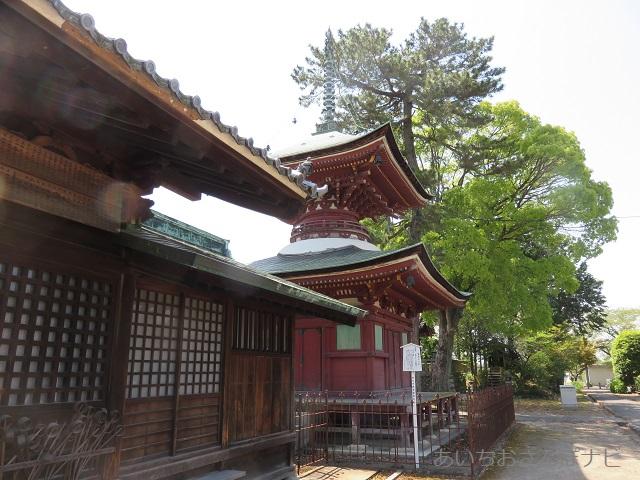 稲沢市性海寺の多宝塔