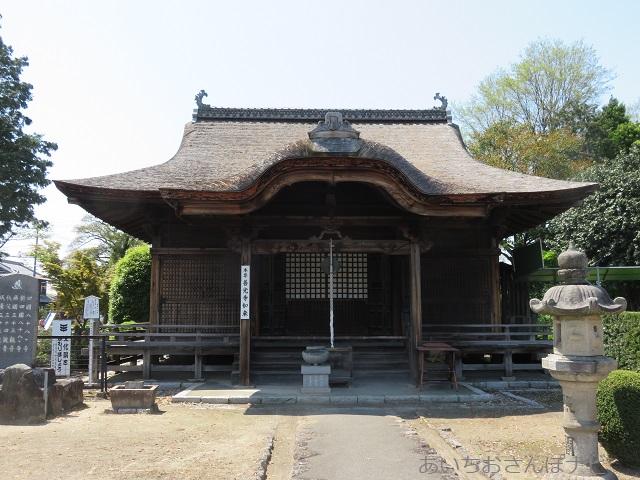 稲沢市性海寺の本堂