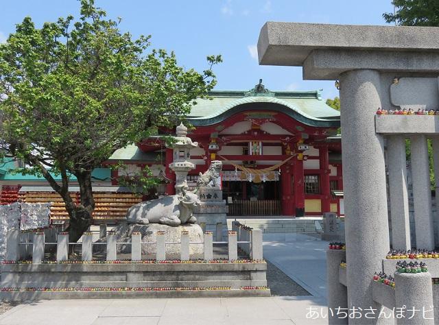 名古屋市千種区の上野天満宮の境内