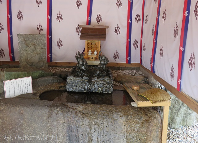 名古屋市金神社の銭洗い