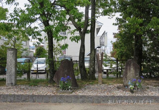 桶狭間古戦場公園の今川義元のお墓