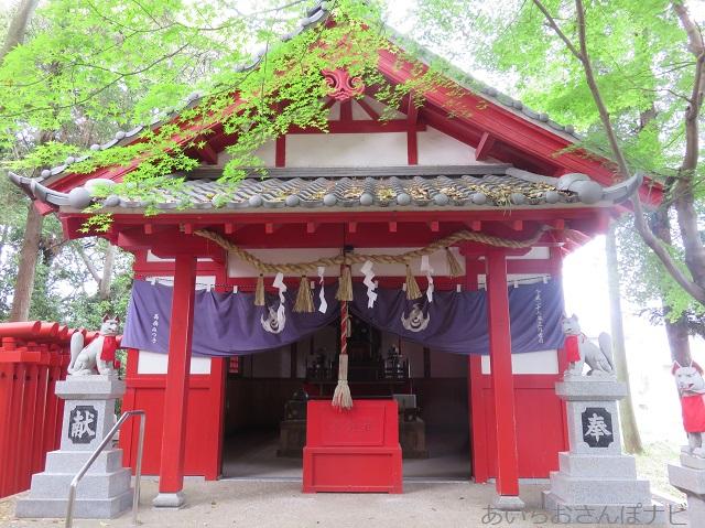 清須市の日吉神社の山王稲荷社