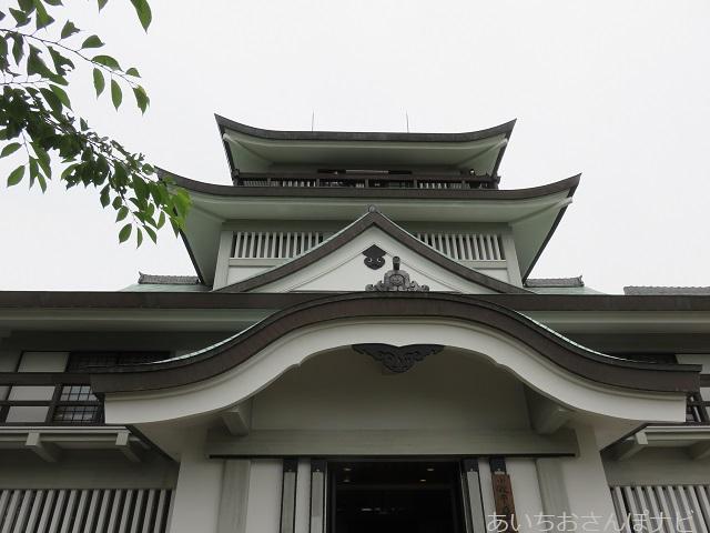 愛知県小牧山城の小牧歴史館