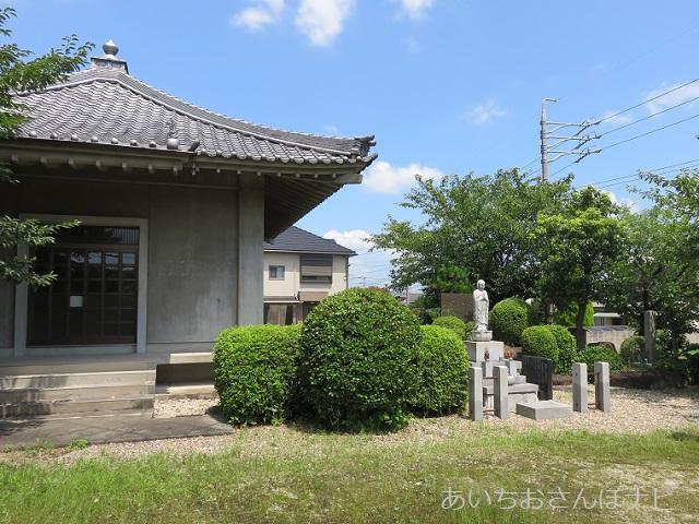 愛知県長久手市にある長篠城跡と観音堂