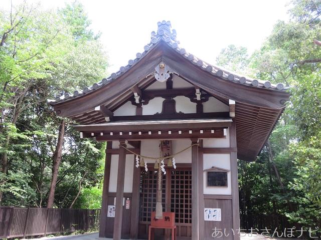 愛知県長久手市にある富士浅間神社の本殿