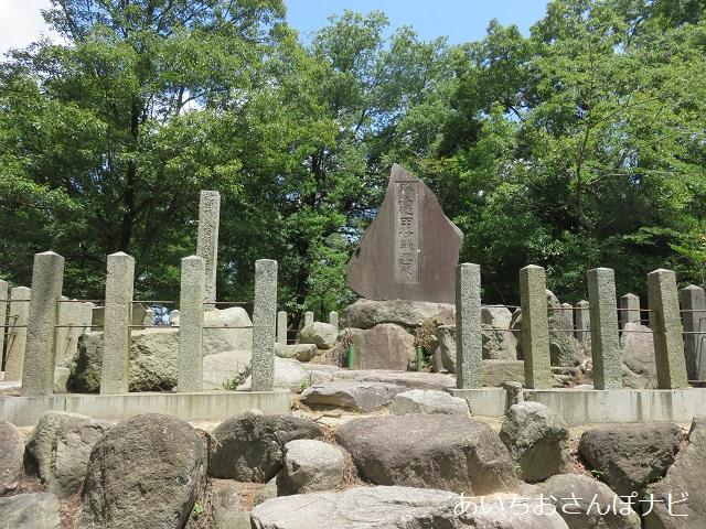 愛知県長久手市にある勝入塚