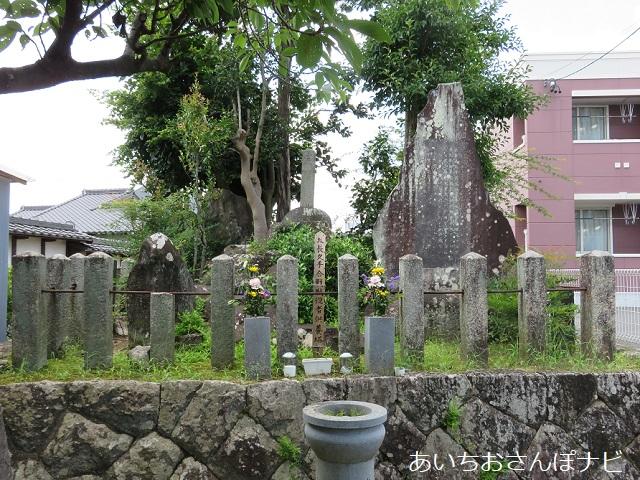 愛知県長久手市の合戦の首塚