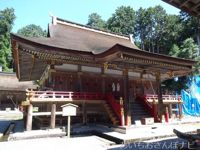 滋賀県大津市坂本にある日吉大社の東本宮の本殿