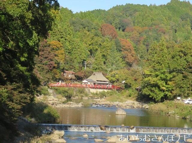豊田市香嵐渓の香嵐橋
