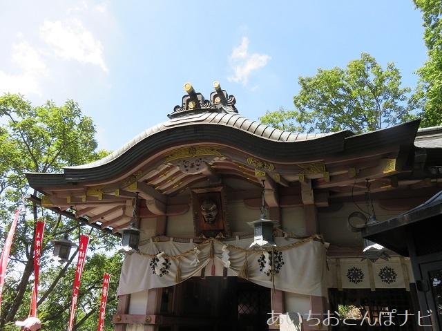 滋賀県太郎坊宮の願掛け殿