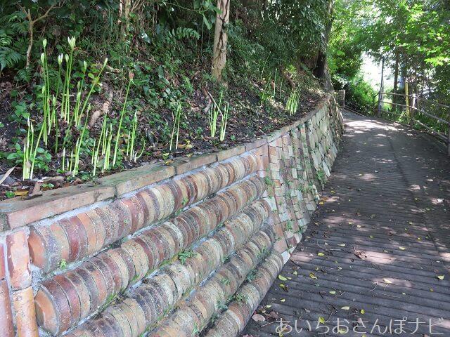愛知県瀬戸市の窯垣の小径