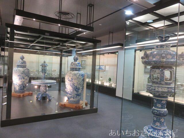 愛知県瀬戸市の瀬戸蔵ミュージアムの展示品