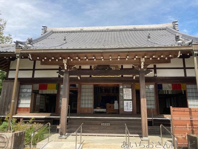 愛知県稲沢市の円光禅寺(萩寺)の本堂