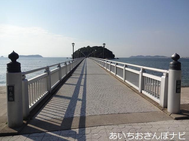愛知県蒲郡市の竹島橋