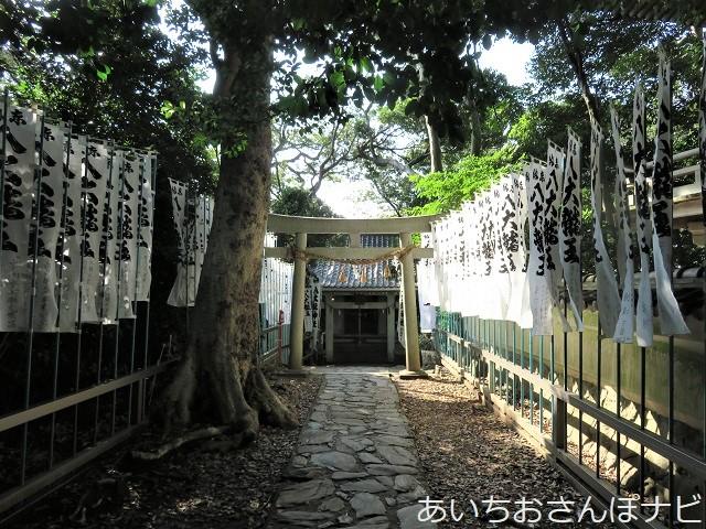 愛知県蒲郡市の竹島の八大龍神社