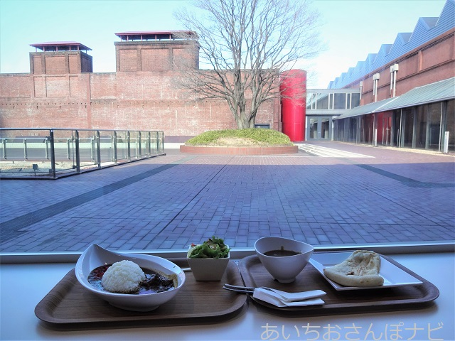 名古屋市トヨタ産業技術博物館のミュージアムカフェのカレー