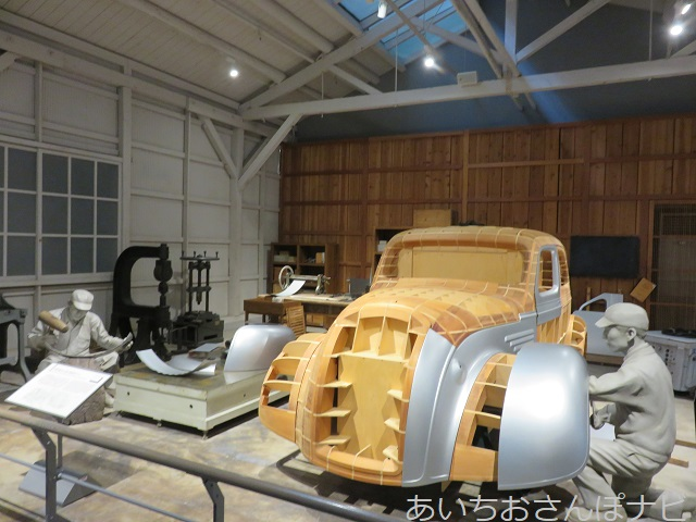 名古屋市トヨタ産業技術博物館の自動車館