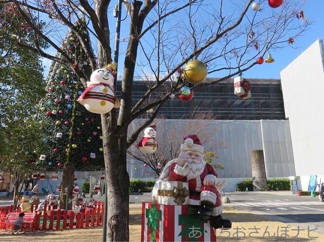 名古屋ノリタケの森のクリスマス風景
