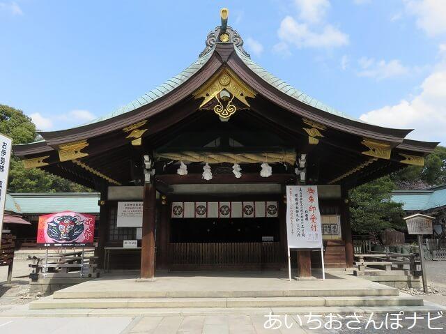 一宮市真清田神社拝殿
