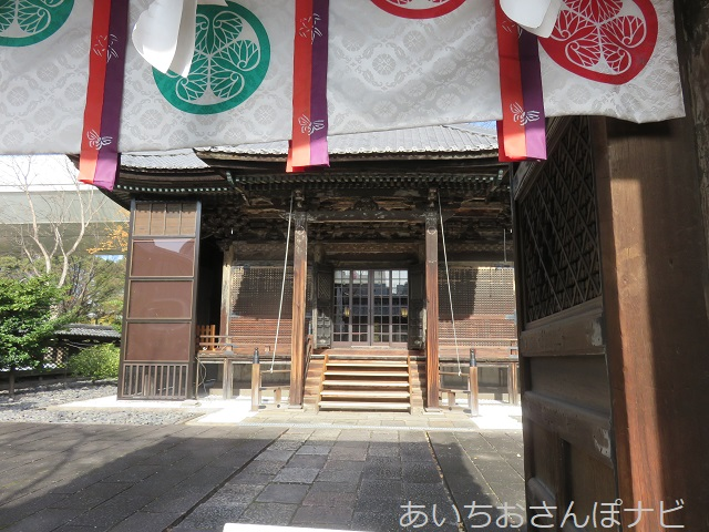 名古屋市の名古屋東照宮の本殿