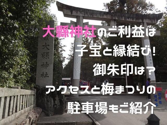 犬山市大縣神社の鳥居