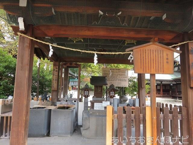 一宮市真清田神社の神水舎