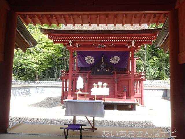 名古屋市南区富部神社の本殿