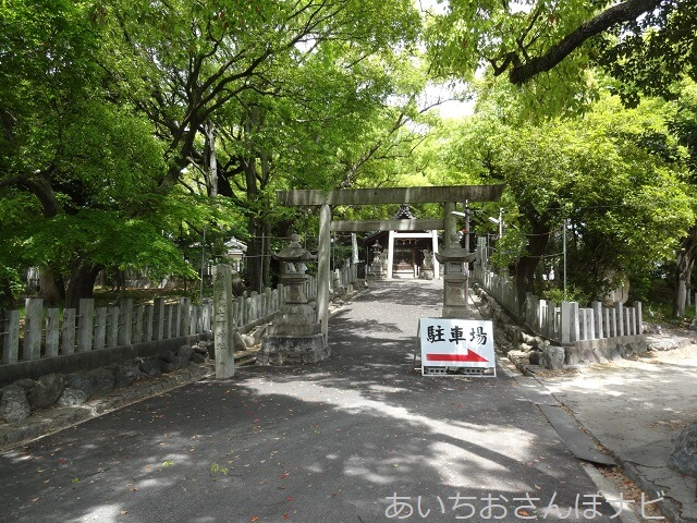名古屋市南区笠寺町七所神社の二の鳥居