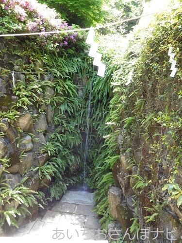 名古屋市守山区の俱利伽羅不動寺の滝行
