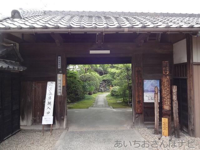 名古屋市中川区荒子観音の本坊入口