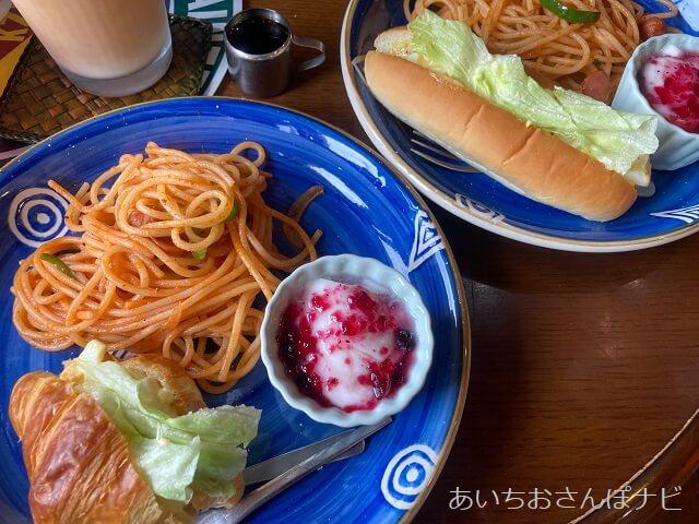 稲沢市モータウンカフェのモーニング