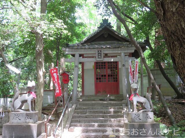 名古屋市守山区の生玉稲荷神社奥の院